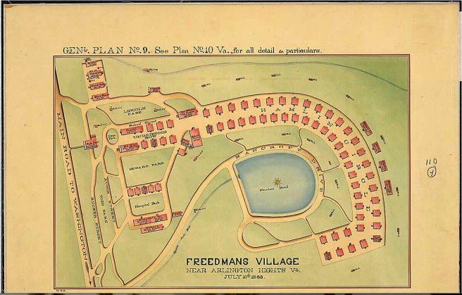 Freedman's village Plat